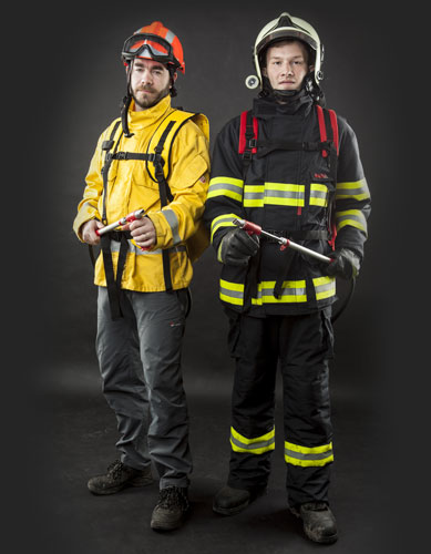 Lestech firefighting backpacks